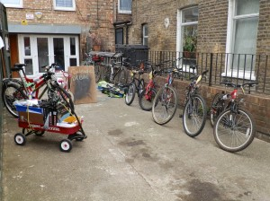 Bikes ready for sale